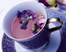 Цветы в чае