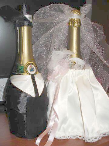 Красивое фото свадебное шампанское